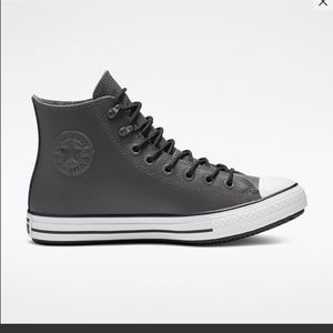 Men's Grey high top Converse